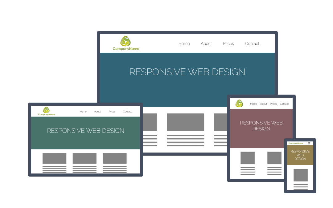 Cecil Web Designs Responsive Layouts